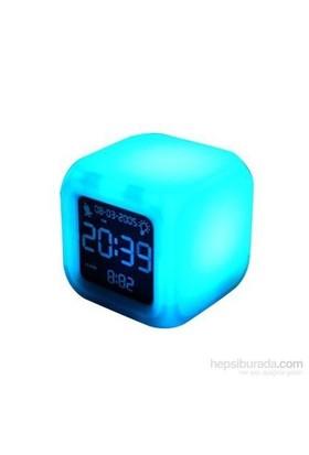 Renk Değiştiren Alarmlı Masa Saati