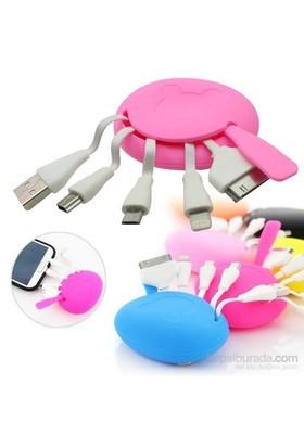 Practika Çoklu USB Şarj Adaptörü