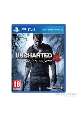 Uncharted 4: Bir Hırsızın Sonu (Türkçe Dublaj) PS4 Oyun