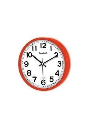 Time Gold Anneler Gününe Özel Simela Duvar Saati Kırmızı