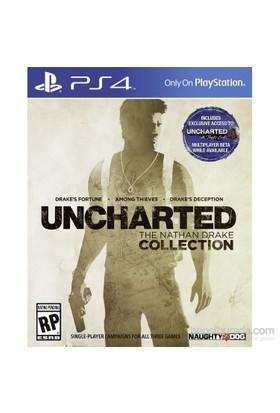 Uncharted : The Nathan Drake Collection Ps4 (Türkçe Altyazı-Türkçe Dublaj)