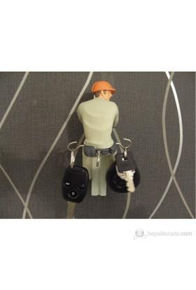 Electricaian Man Key Holder - Teknisyen Anahtarlık