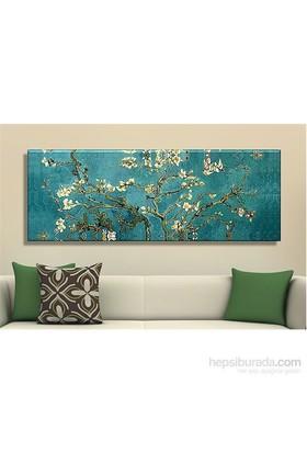 Badem Çiçekleri Kanvas Tablo