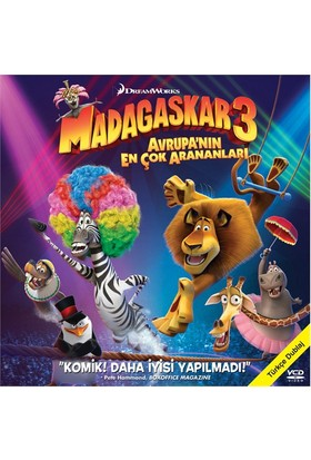 Madagaskar 3 (Avrupa'nin En Çok Arananları) (VCD)