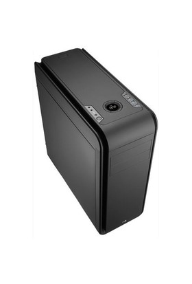 Aerocool DS200 2xUSB 3.0 2xUSB 2.0 LCD Fan Kontrolculu Siyah ATX Oyuncu Kasası (AE-DS200)