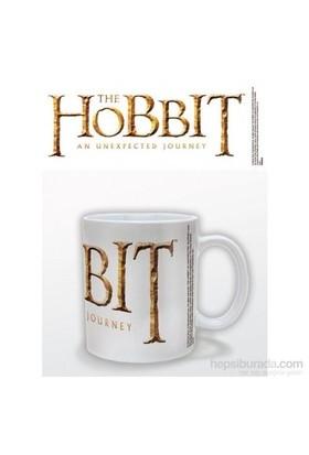 The Hobbit Logo White Kupa Bardak