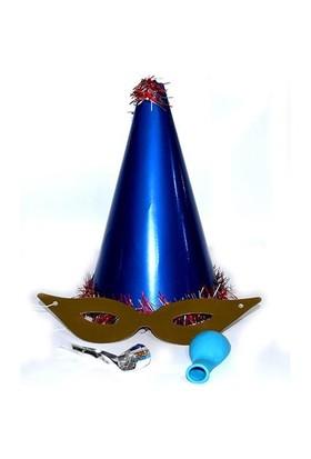 Yılbaşı Katyon Şapka / Lacivert