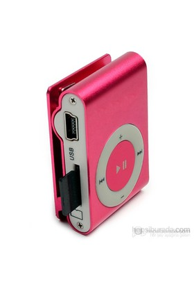 Player PL-101 8GB Mp3 Çalar - Pembe