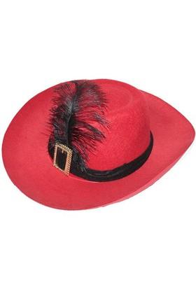 Pandoli Kırmızı Çizmeli Kedi Şapkası