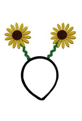 Pandoli Sarı Çiçek Şekilli Taç
