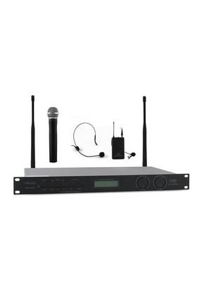 Mikado Mcw-820B Kablosuz Konferans Set Mikrofon 16X2 Kanal Siyah