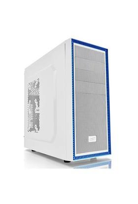 Deep Cool Tesseract BF WH 1xUSB 2.0, 1xUSB 3.0, 1x120mm Fanlı ATX Beyaz Kasa