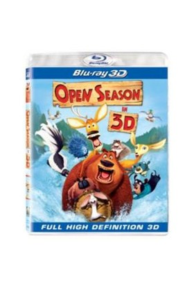 Open Season 3 (Çılgın Dostlar 3) (3D Blu-Ray Disc)