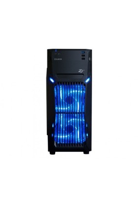 Zalman Z1NEO Atx 1x kulaklık, 1x mıc., 2xUSB 2.0, 1xUSB 3.0, 2x120mm Fan, PCI/AGP 375mm Mid Tower Si