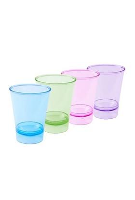 Renkli Şeffaf Shot Bardağı