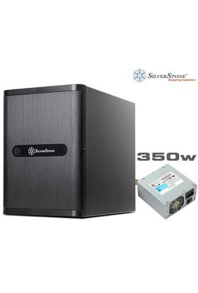 "Silverstone DS380 12 Disk Yuvalı ( 8 x 3.5"", 4 x 2,5"") Disk Destekli 350W NAS Kasa (SST-DS380-350)"