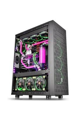Thermaltake Core X71 Modüler Riing Fanlı Full Tower Pencereli Kasa CA-1F8-00M1WN-00