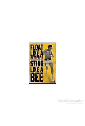 Maxi Poster Muhammed Ali Float Like A Butterfly