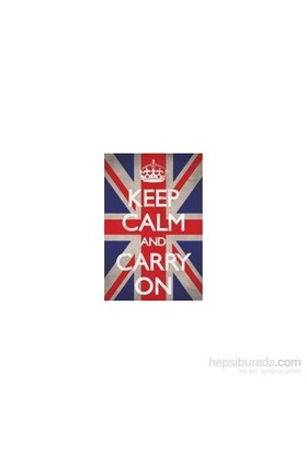 Maxi Poster Keep Calm And Carry On Union Jack