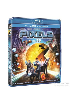 Pixels (3D+2D Blu-Ray Disc)