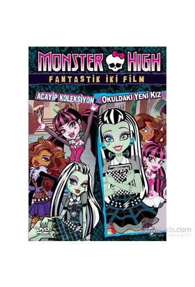 Monster High :Fantastik İki Film (VCD)