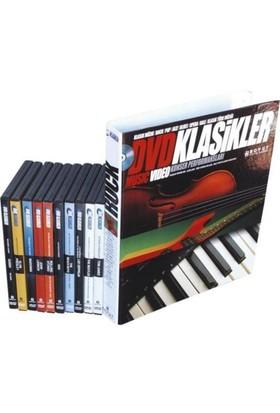 DVD Klasikler Rock Müzik Seti (10 DVD + 10 Fasikül)