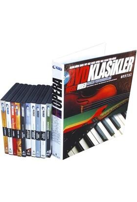 DVD Klasikler Opera Seti (10 DVD + 10 Fasikül)