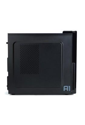 Zalman A1 ATX Mini Tower Kasa 1 x Mikrofon 1 x Kulaklık, 1 x USB 3.0, 1 x USB 2.0