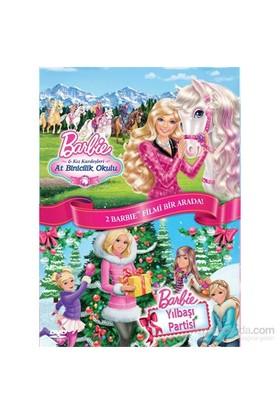 Barbie: Kız Kardeşleri & At Binicilik Okulu + Yılbaşı Partisi İkili Paket (DVD)