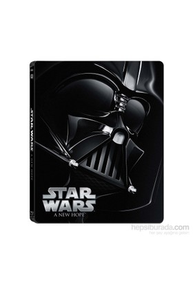 Star Wars Ep. IV A New Hope Limited Edition Steel Book ( Blu -Ray Disc )