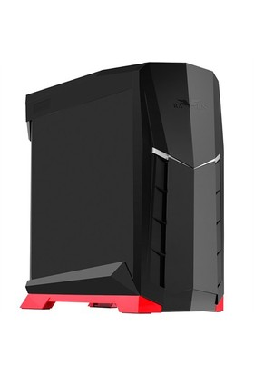 Silverstone Raven Serisi RVX01 Pencereli ATX/Micro ATX Kırmızı/Siyah Oyuncu Kasası (SST-RVX01BR-W)