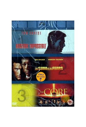 Action Box Set (Mission Impossıble-the Sum Of All Fears-the Core) ( DVD )