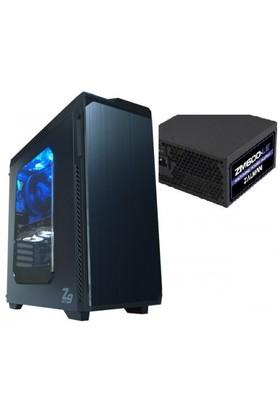 Zalman Z9NEO_600LE 600W 2xUSB 2.0 - 2xUSB 3.0 ATX Siyah Kasa