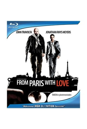 From Paris With Love (Paris'ten Sevgilerle) (Blu-Ray Disc)