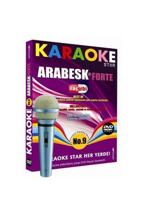 Karaoke Star No:9 Arabesk Forte - İlaç Gibi (Mikrofon Hediyeli)