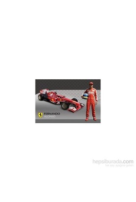 Maxi Poster Ferrari Alonso & Car