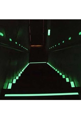 Uygun Karanlıkta Işık Veren Fosforlu Şerit 120 Cm