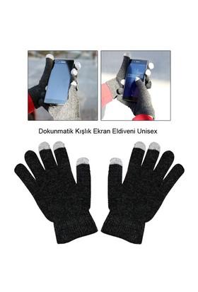 Uygun Dokunmatik Kışlık Ekran Eldiveni Unisex