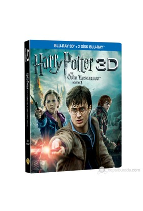 Harry Potter and the Deathly Hallows: Part II (Harry Potter ve Ölüm Yadigarları Bölüm 2) (3D Blu-Ray + 2 Blu-Ray Disc)