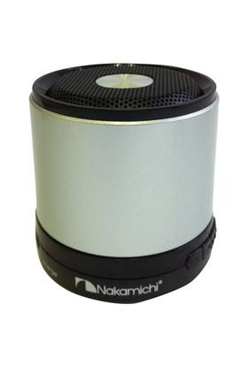 Nakamichi NBS2 (Gümüş) Mini Bluetooth Hoparlör
