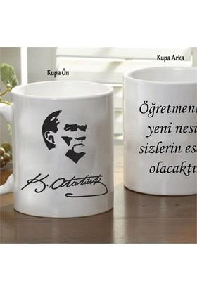 Mustafa Kemal Atatürk Öğretmenler Günü Kupa Bardak