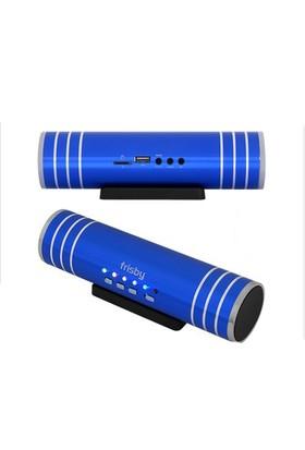 Frisby FS-P125B TF/SD Taşınabilir Usb Mavi Mini Speaker