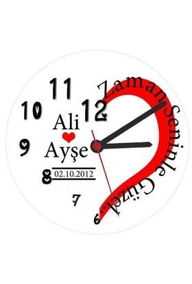 Zaman Seninle Güzel Duvar Saati
