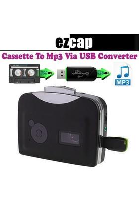 Qpars-U Walkman Kaset Mp3 Çevirici Kaset Çalar Ezcap Kaset Capture