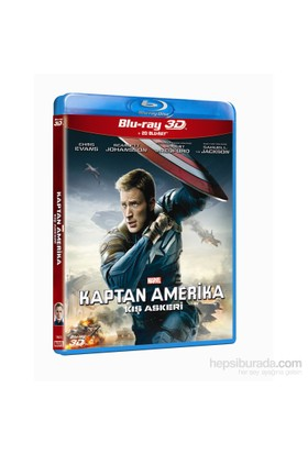 Captain America: The Winter Soldier (Kaptan Amerika: Kış Askeri) (3D Blu-Ray Disc + 2D Blu-Ray Disc)