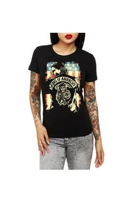 Köstebek Sons Of Anarchy Kadın T-Shirt