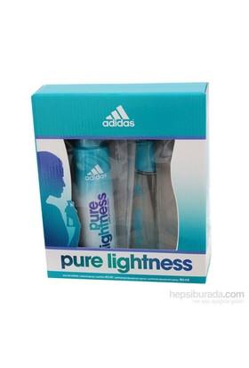 Adidas Pure Lightness Edt 50 Ml Kadın Parfüm + 150 Deodorant