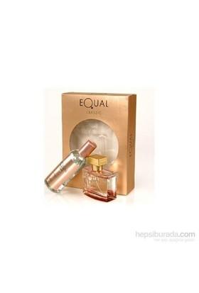 Equal Edt 75 Ml Kadın Parfüm + 150 Ml Vücut Losyonu Set