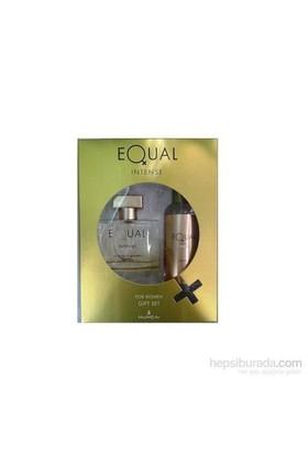 Equal Intense 75 Ml Edt Kadın Parfüm + 150 Ml Vücut Losyonu Set
