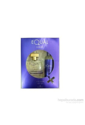 Equal Sense 75 Ml Edt Kadın Parfüm + 150 Ml Vücut Losyonu Set